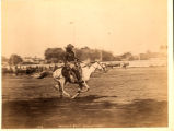 Buffalo Bill on Horseback in Arena